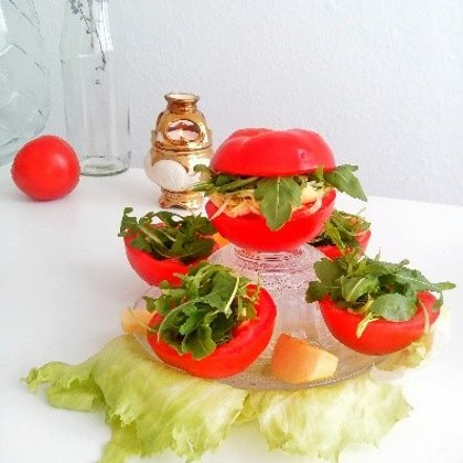 Tomaten - Burger - Time